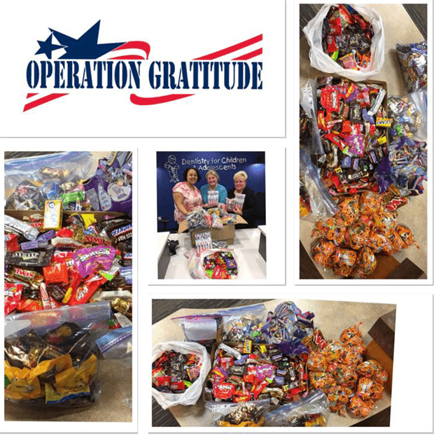 Operation Gratitude Candy Donation
